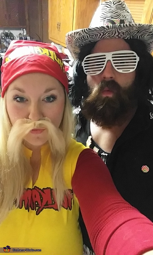 Macho Man Randy Savage and Hulk Hogan Costume