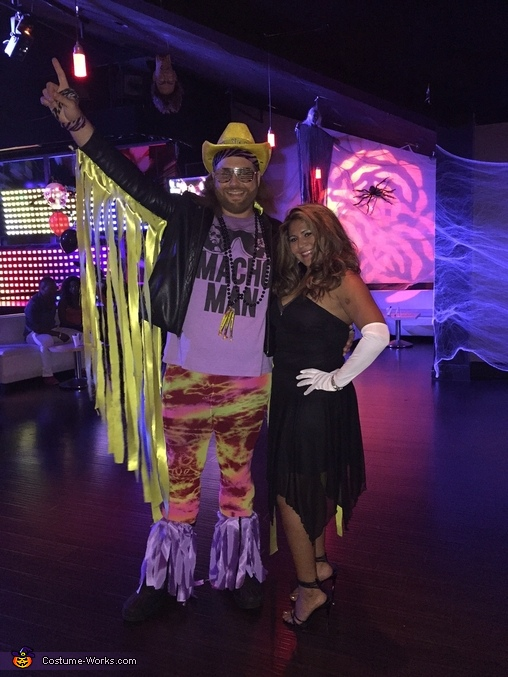 Macho Man Randy Savage and Miss Elizabeth Costume