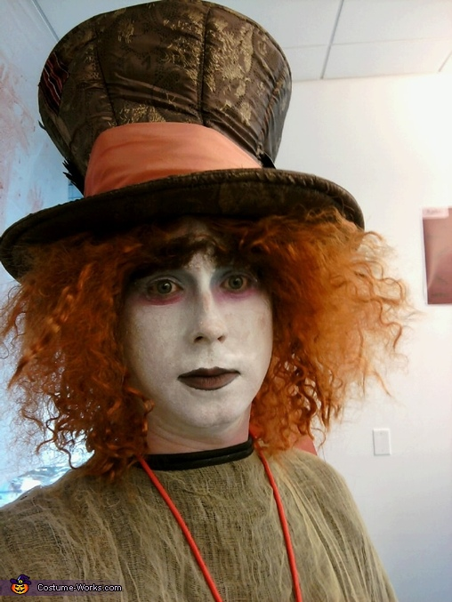 Goth Mad Hatter  Costume