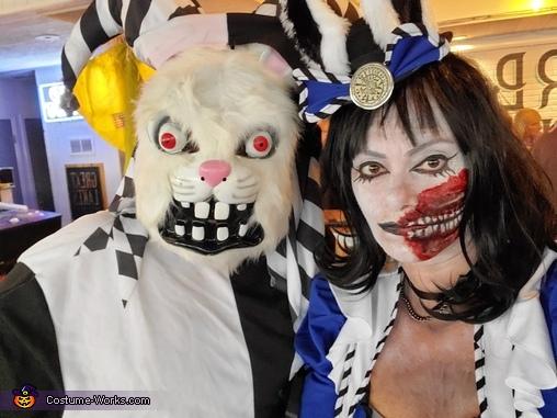 Mad Alice and her Rabbit Costume