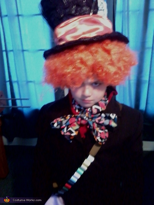 Mad Hatter Costume for a Boy