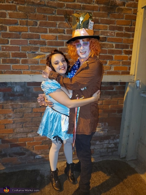Welcome to wonderland, Mad Hatter Costume