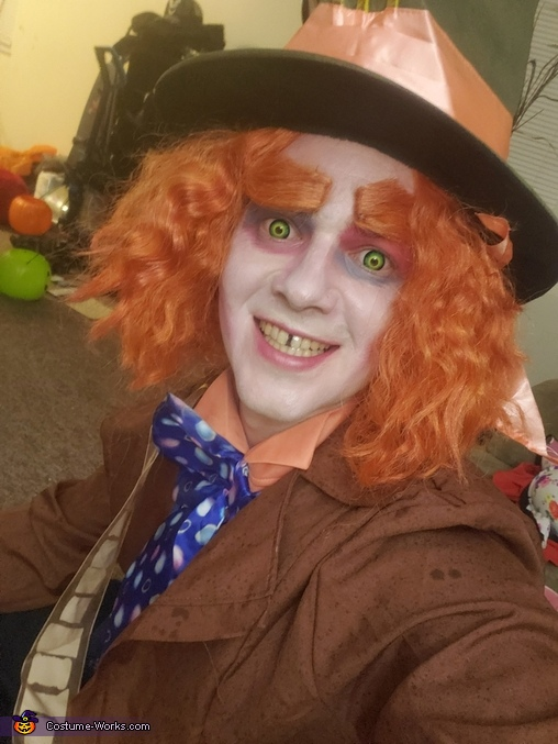 Has the world gone mad?!, Mad Hatter Costume