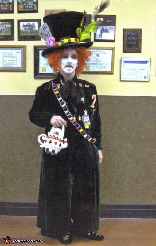 mad hatter adult costume diy