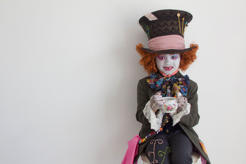 Tea as The Mad Hatter! #octoberfunwithtéa, Mad Hatter Costume