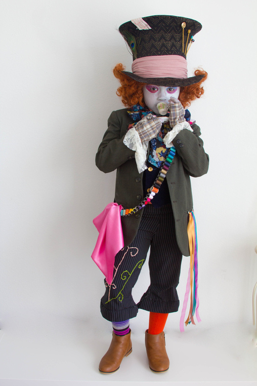 Téa as The Mad Hatter! #octoberfunwithTéa, Mad Hatter Costume