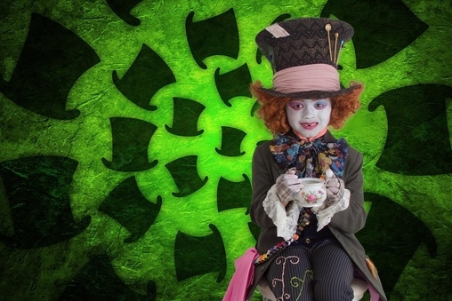 """As lost as Alice, as Mad as Hatter"" #octoberfunwithTéa, Mad Hatter Costume"