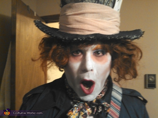 Tim Burton Inspired Mad Hatter Costume