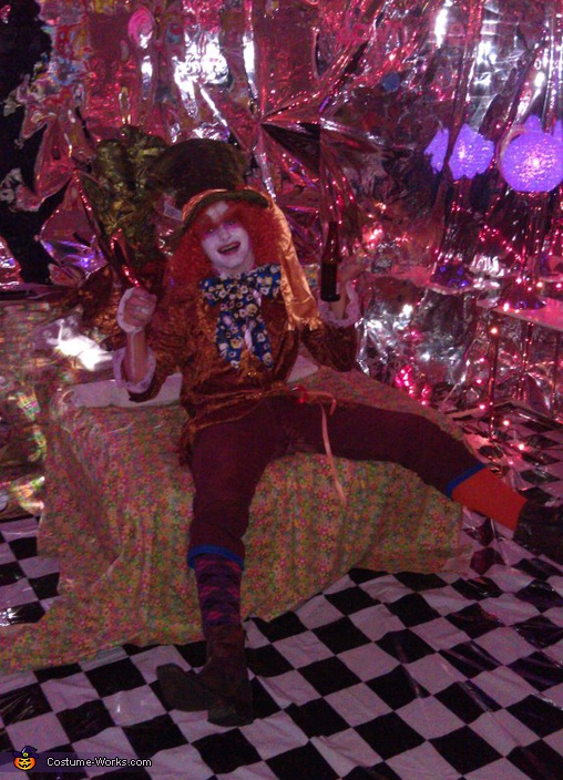 Homemade Mad Hatter Costume