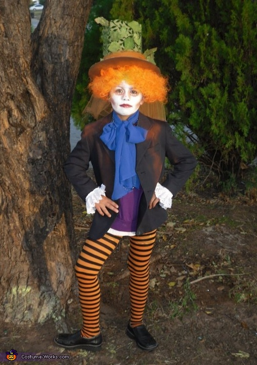Mad Hatter DIY Halloween Costume