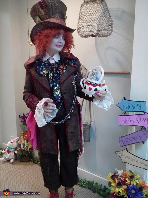 Mad Hatter with Alice, Mad Hatter Costume
