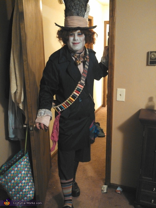 Mad Hatter Costume inspired by Tim Burton