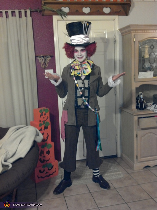 Mad Hatter - Homemade costumes for boys
