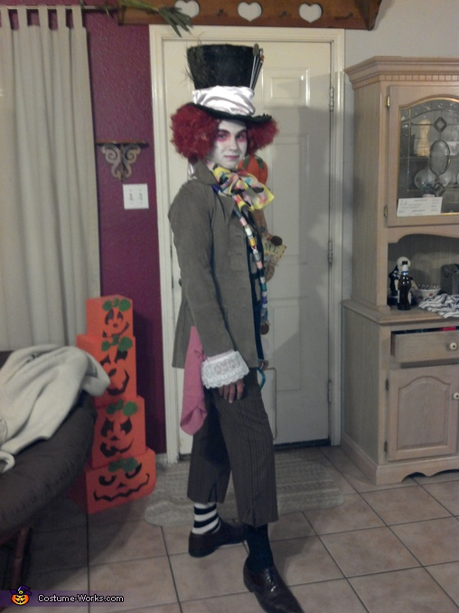 mad hatter, Homemade Mad Hatter Costume