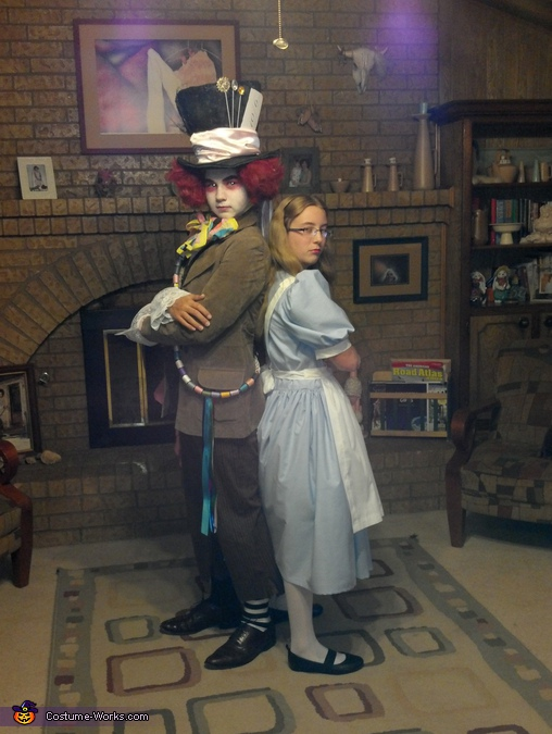 mad hatter and alice, Homemade Mad Hatter Costume