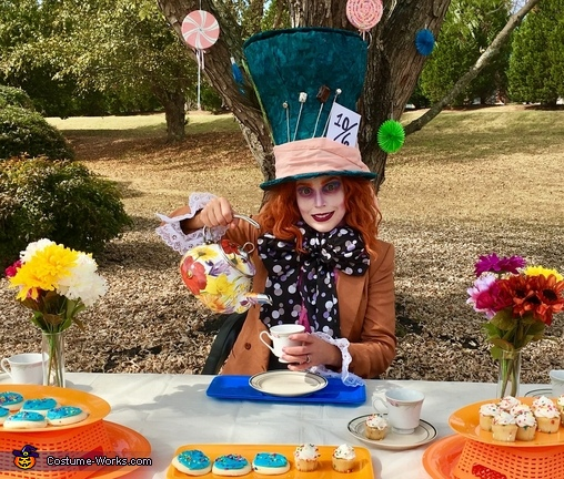 Would you like a cup of tea, Mad Hatter Costume