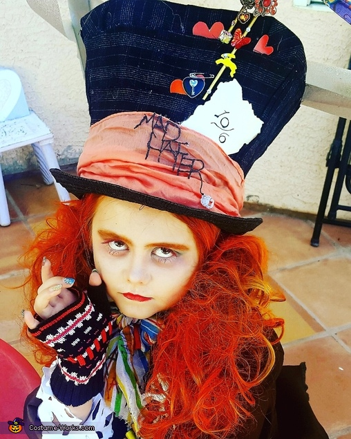 Mad Hatter Costume Idea for Girls