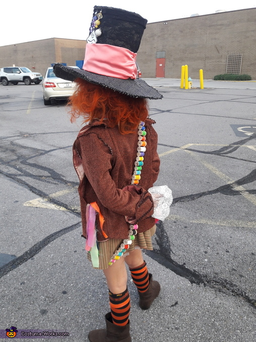 DIY Mad Hatter Costume for Girls