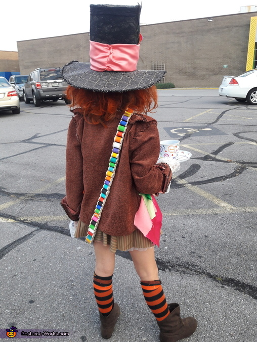 DIY Mad Hatter Costume for Girls