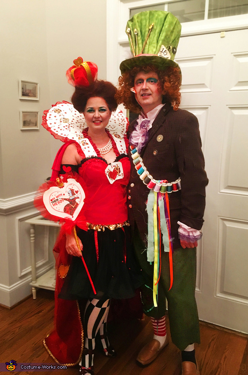 Mad Hatter & Queen of Hearts 2, Mad Hatter AFTER the Queen of Hearts' Attack Costume