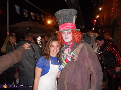 Mad Hatter and Alice Costumes