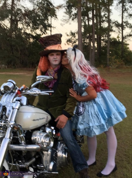 Mad Hatter and Alice Costume