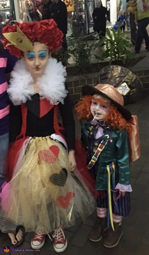 Mad Hatter and The Queen Costume