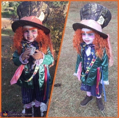 Mad Hatter and The Queen Homemade Costume