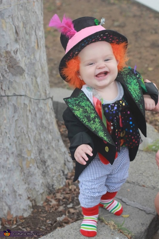 Mad Hatter Baby Homemade Costume