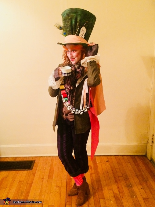 Mad Hatter from Alice in Wonderland Costume