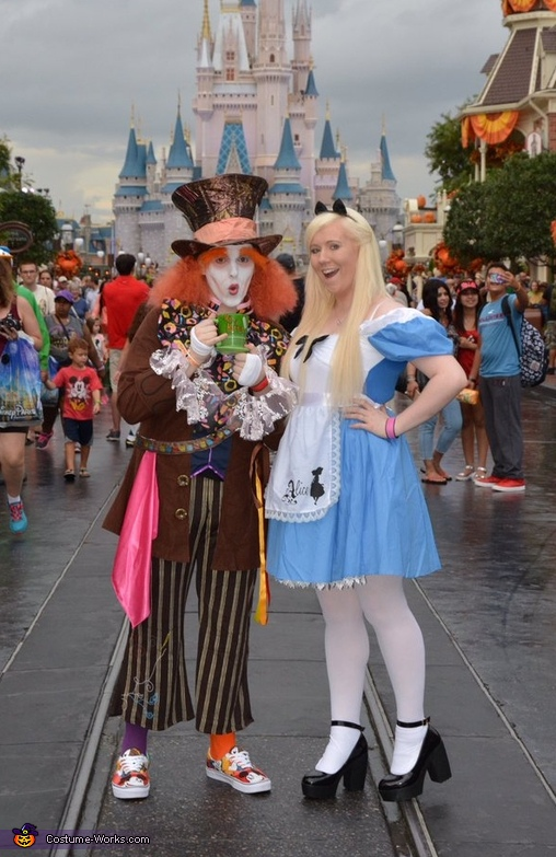 Mad Hatter & Alice Costume