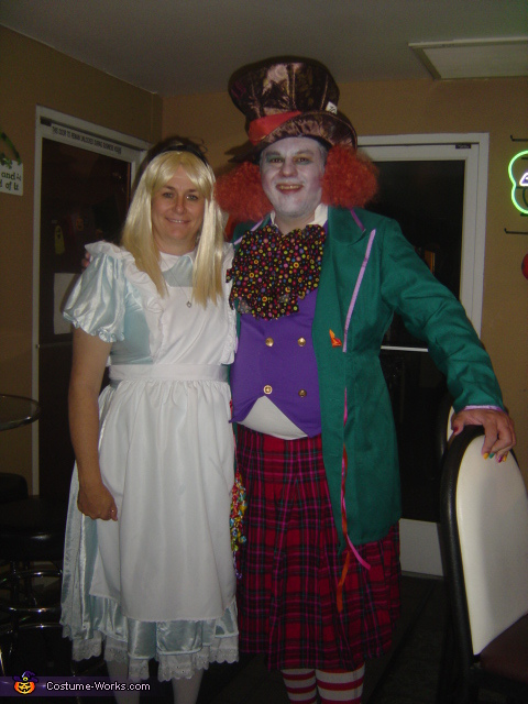 Mad Hatter & Alice in Wonderland Costume