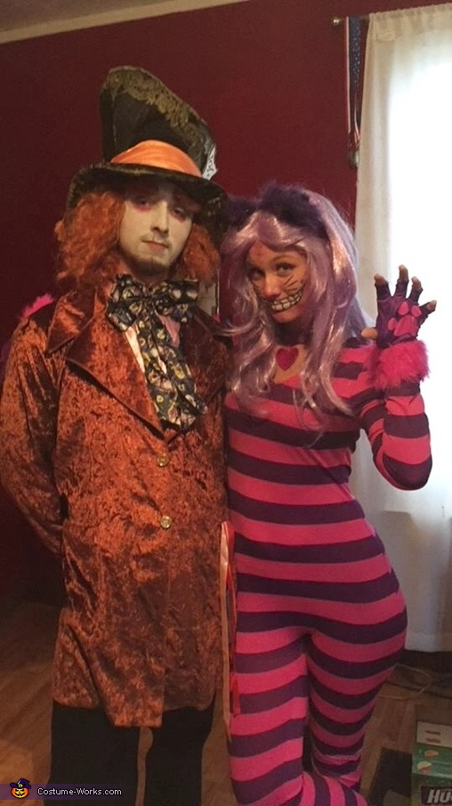 Mad Hatter & Cheshire Cat Costume