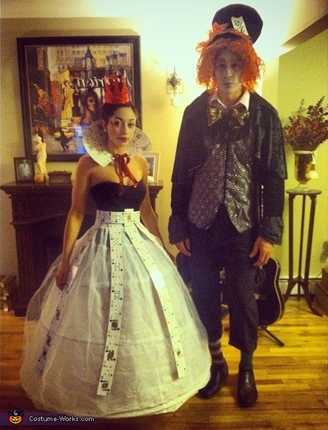 The Mad Hatter & Queen of Hearts Costume
