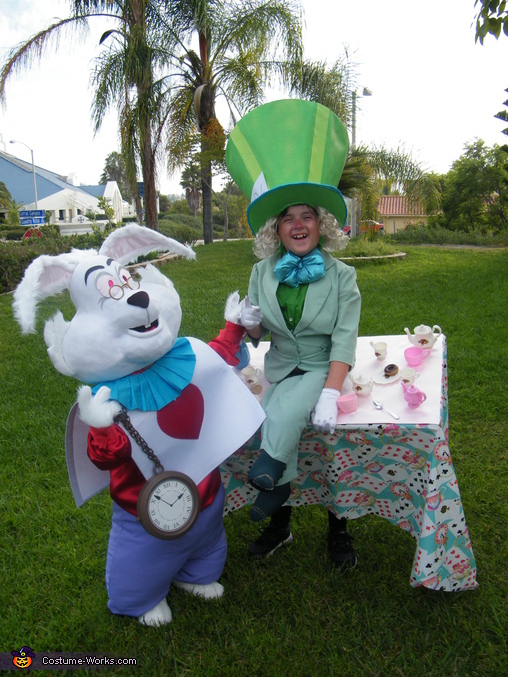 MOVE DOWN, MOVE DOWN, MOVE DOWN !, Mad Hatter & White Rabbit Costume