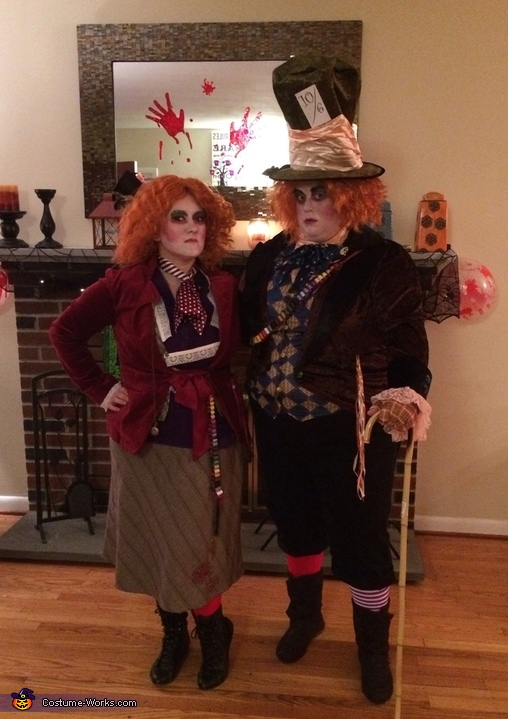Mad Hatters Couple Costume