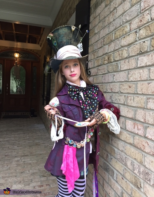 Mad Hatter's Daughter Homemade Costume
