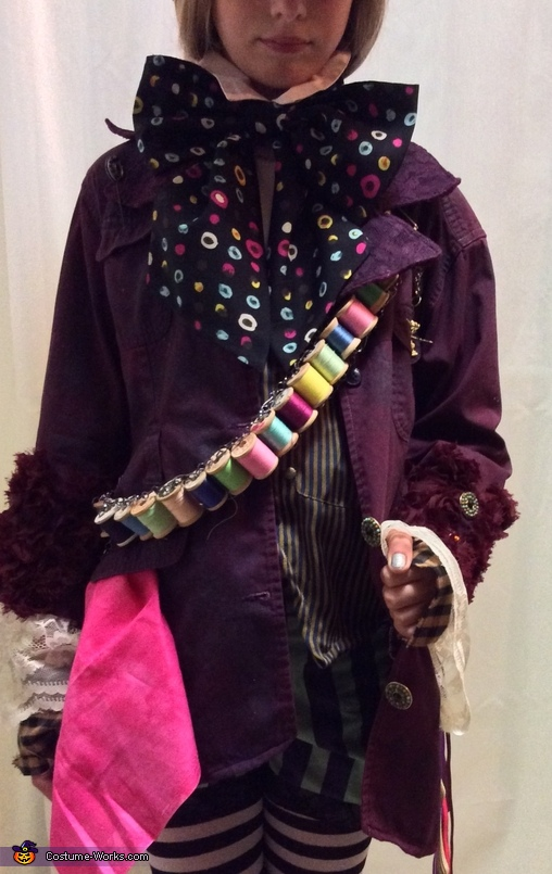 Jacket and bandolier, Mad Hatter's Daughter Costume