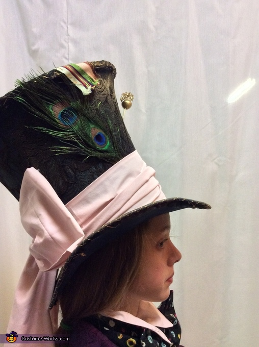 More hat, Mad Hatter's Daughter Costume