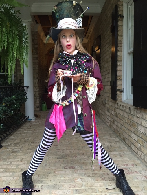 Mad as a hatter, Mad Hatter's Daughter Costume