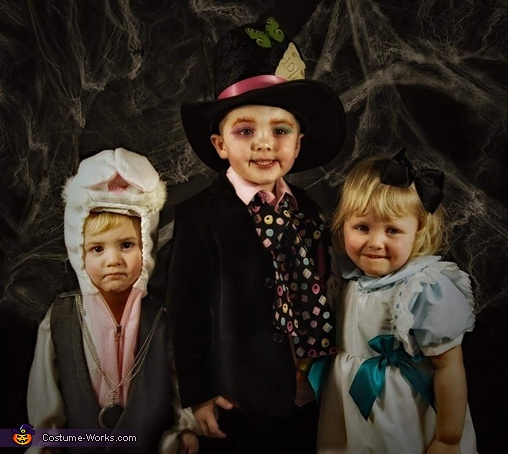 Mad Hatter's Tea Party Kids Group Costume