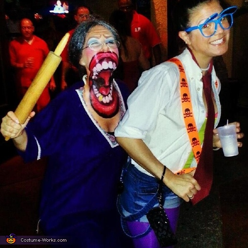 Mad Mamma is after a nerd, Mad Mamma Waterhouse Costume