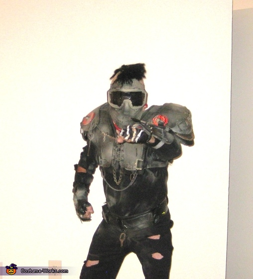 Mad Max 2: The Road Warrior Bad Biker Homemade Costume