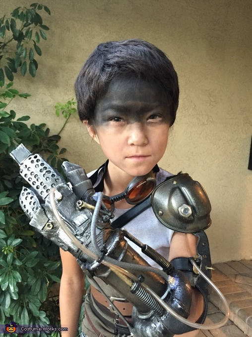 Mad Max Furiosa Homemade Costume