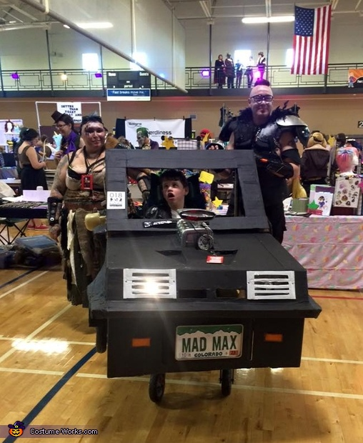 Photo from Fort Collins Comic Con, Mad Max & Wasteland Warriors Costume