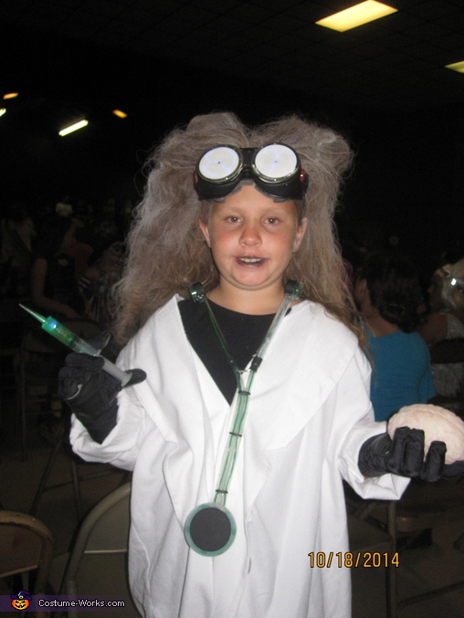 Mad Scientist Girls Costume