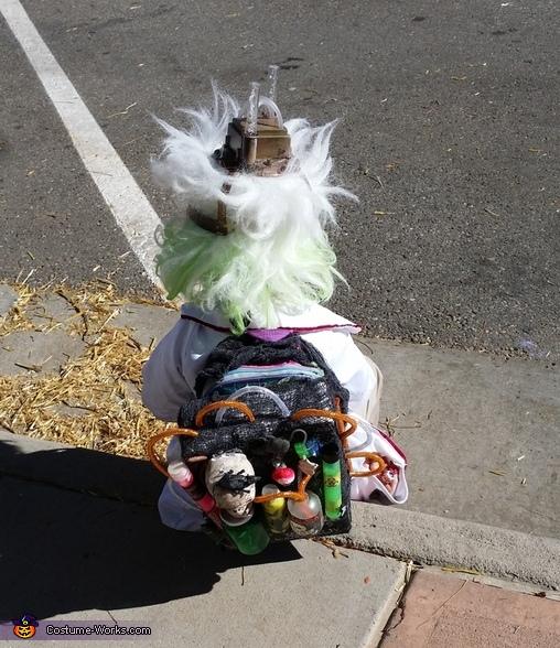 lab backpack, Mad Scientist Costume