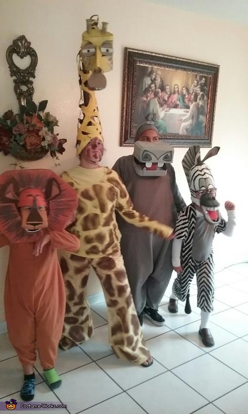 Madagascar Family Costume