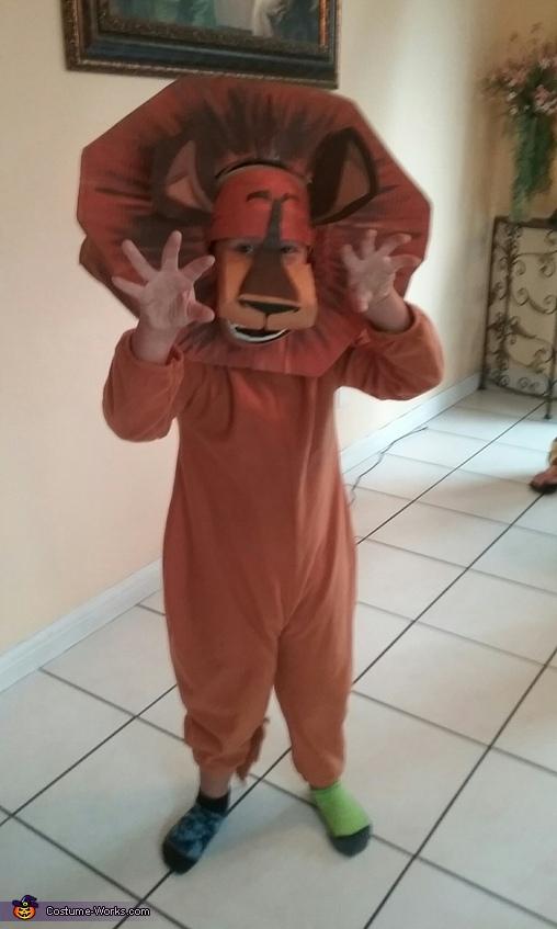 Alex the Lion, Madagascar Family Costume