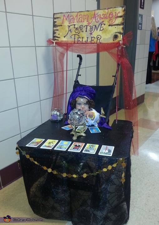 Madam Anzley Fortune Teller Costume
